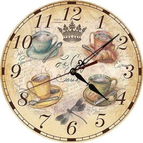 """Часы настенные """"Время чаепития"""" - фото 10000"""