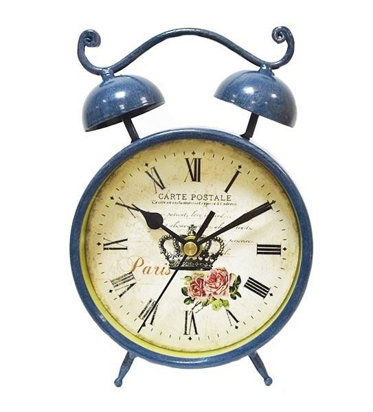 Часы настольные металлические - фото 10035