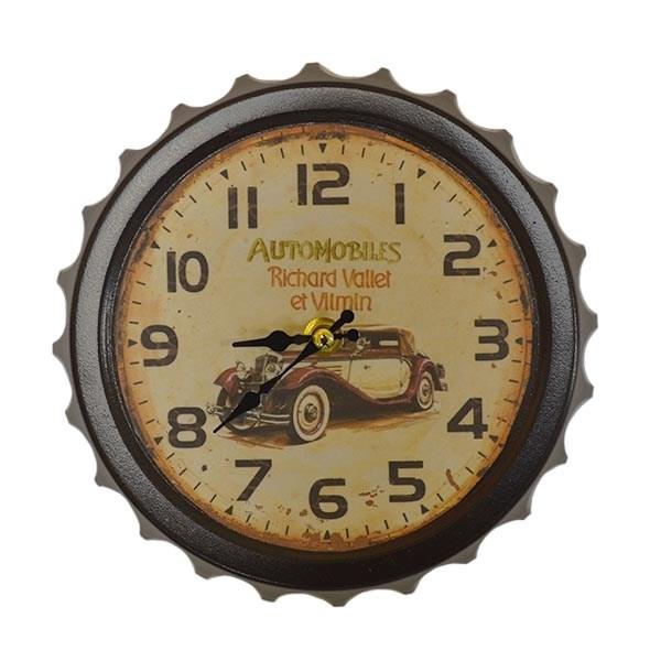 """Часы настенные """"Ретро автомобиль"""" - фото 10076"""