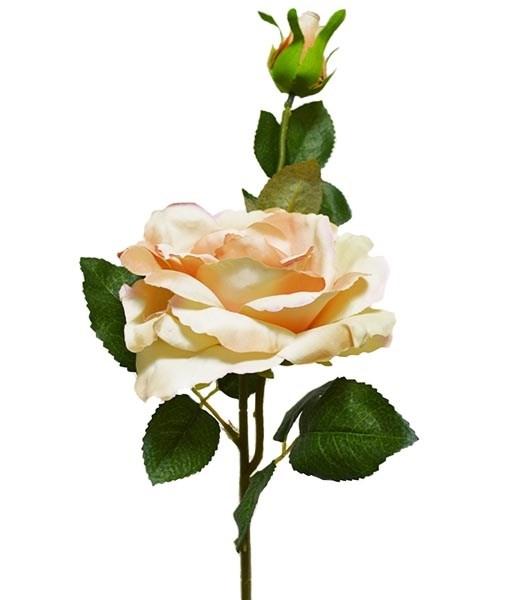 """Искусственный цветок """"Роза чайная"""" - фото 10190"""