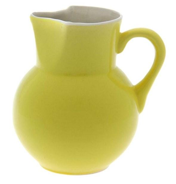 Кувшин керамический желтый 1700 мл - фото 10340