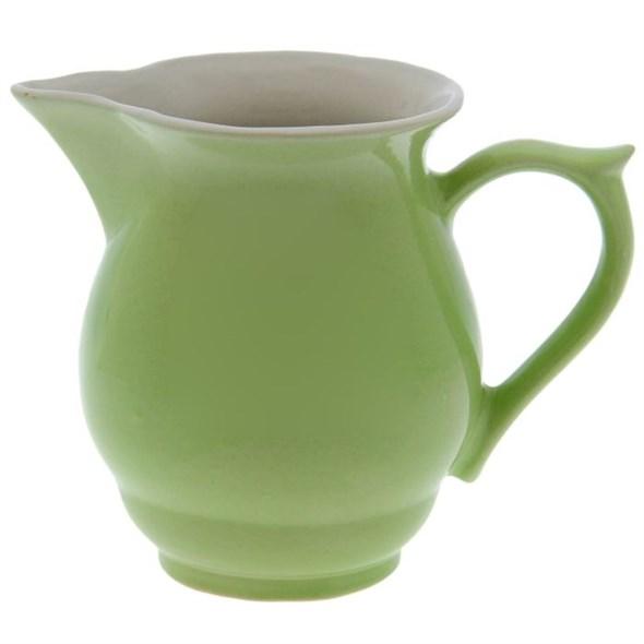 Кувшин керамический зеленый 1000 мл - фото 10342