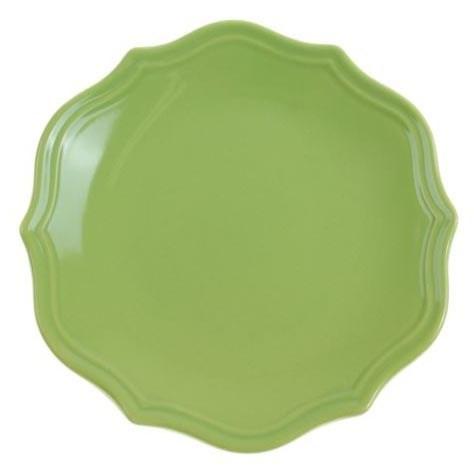 """Тарелка """"Испания"""" зеленая диаметр 21 см - фото 10364"""