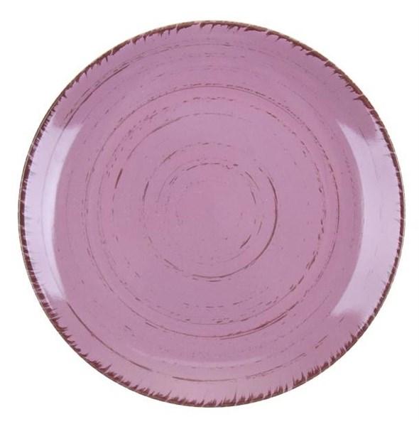 """Тарелка """"Розовая"""" диаметр 20 см - фото 10369"""