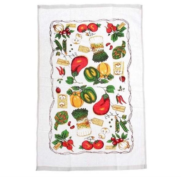 """Полотенце кухонное """"Овощи"""" 38х63 см - фото 10420"""
