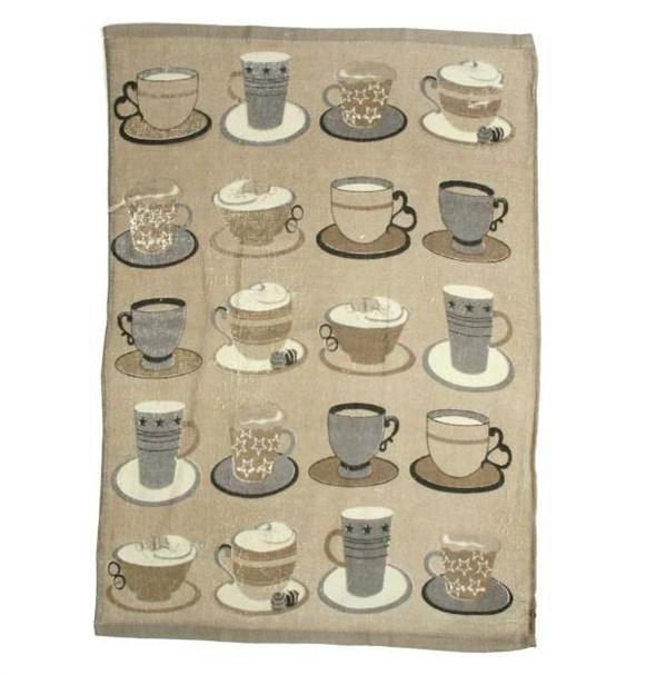 """Полотенце кухонное Чашка кофе"""" 46х66 см - фото 10423"""