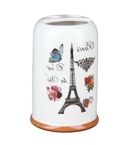 "Подставка для зубных щеток ""Париж"" - фото 10441"