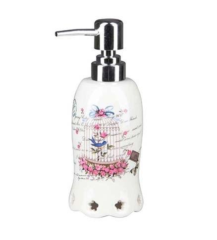 """Дозатор для мыла """"Птичья клетка"""" - фото 10444"""