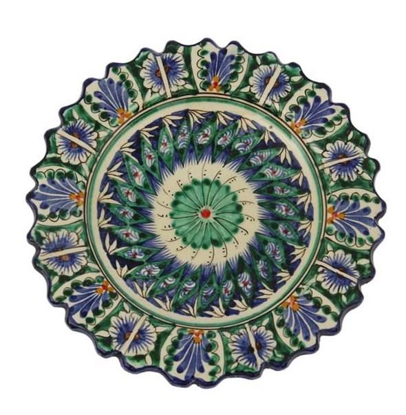 """Тарелка """"Восточные мотивы"""" рельефная, диаметр 17 см - фото 10456"""