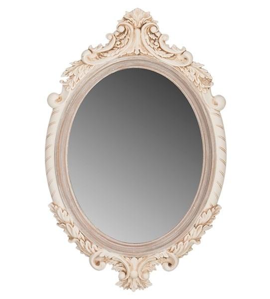 Зеркало настенное овальное резное - фото 10539