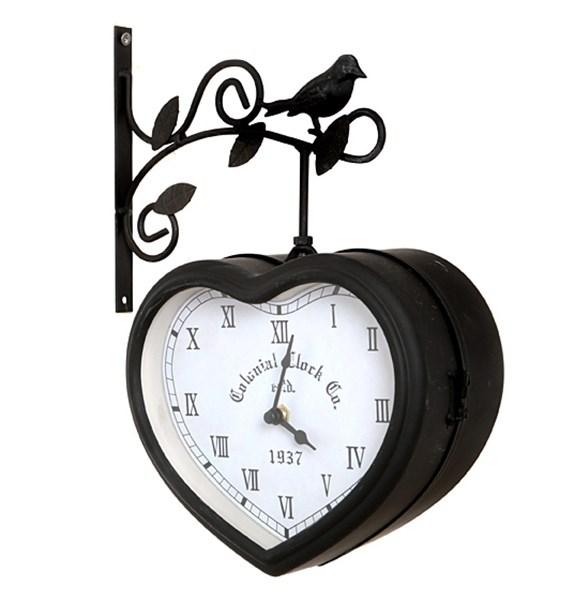Часы настенные двухсторонние - фото 10585