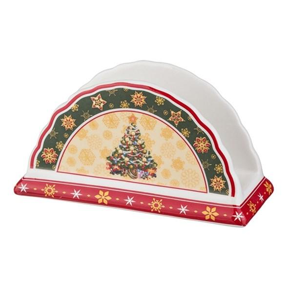 """Салфетница """"Новогодняя елочка"""" в подарочной упаковке - фото 10590"""