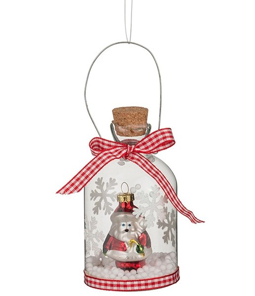 Бутылочка декоративная с Дедом Морозом - фото 10642