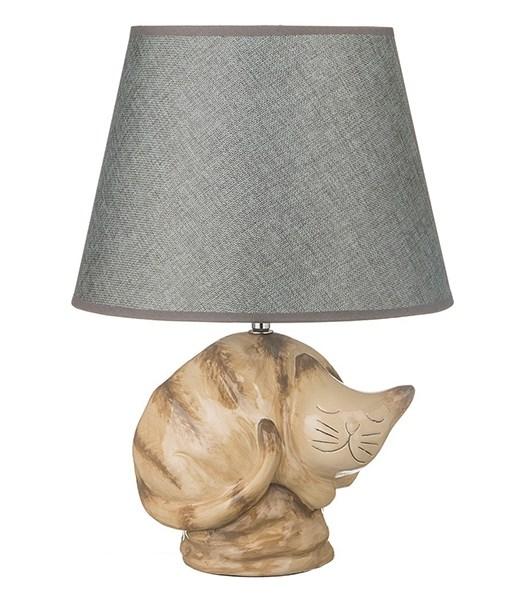 """Лампа настольная """"Спящий кот"""" - фото 10664"""