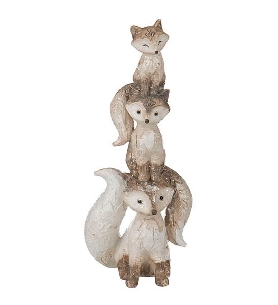 """Статуэтка """"Три лисички"""" - фото 10733"""