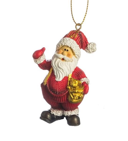"""Елочная игрушка """"Дед Мороз"""" в ассортименте - фото 10803"""