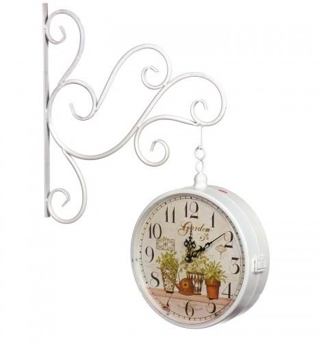 """Часы настенные двухсторонние """"Дивный сад"""" - фото 10871"""