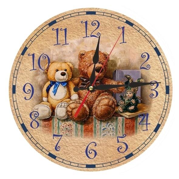 """Часы настенные """"Три друга"""" - фото 10899"""