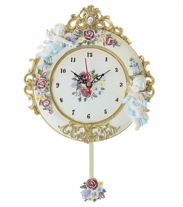 """Часы настенные """"Ангелки"""" с маятником - фото 10905"""