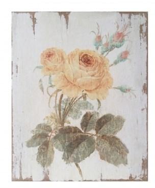 "Панно ""Роза желтая"" - фото 10973"