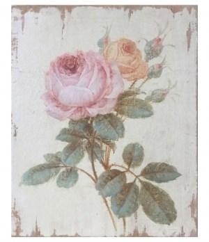 """Панно """"Роза розовая"""" - фото 11108"""