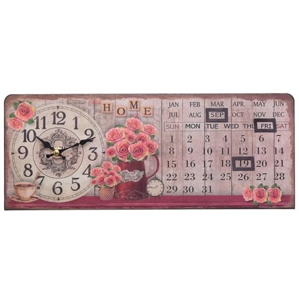 Часы-календарь горизонтальные - фото 11355