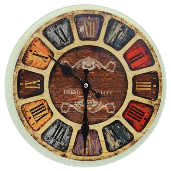 """Часы настенные """"Лофт"""", диаметр 28 см - фото 11419"""