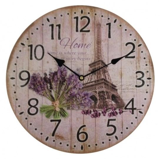 """Часы настенные """"Париж"""" - фото 11421"""