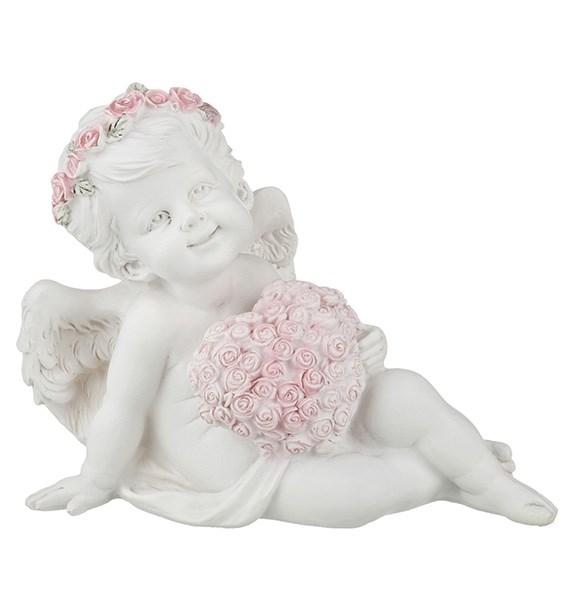 """Статуэтка """"Ангел с цветочным сердцем"""" - фото 11464"""