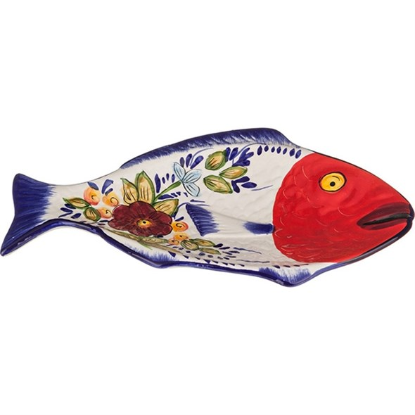 "Тарелка сервировочная ""Рыба"" 29х17 см - фото 11476"