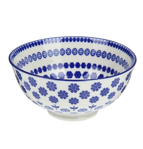 """Пиала """"Синие цветы"""" #1, 280 мл - фото 11677"""