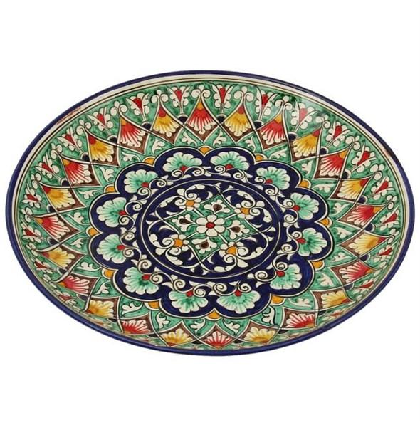 """Тарелка сервировочная """"Восточные мотивы"""" диаметр 28 см - фото 11767"""