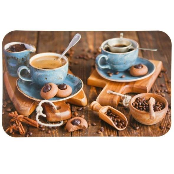 """Подложка пластиковая """"Любимый кофе"""" 26х41 см - фото 11778"""