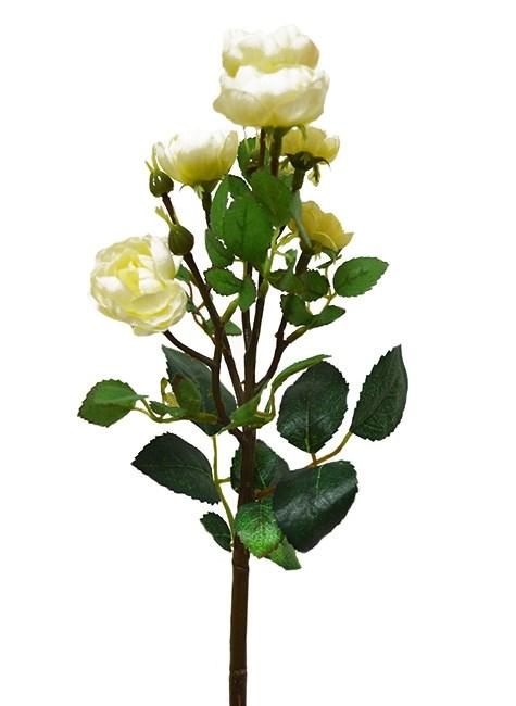 """Букет искусственных цветов """"Роза кустовая белая"""" - фото 11948"""