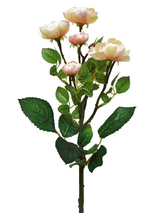 """Букет искусственных цветов """"Роза кустовая розовая"""" - фото 12063"""
