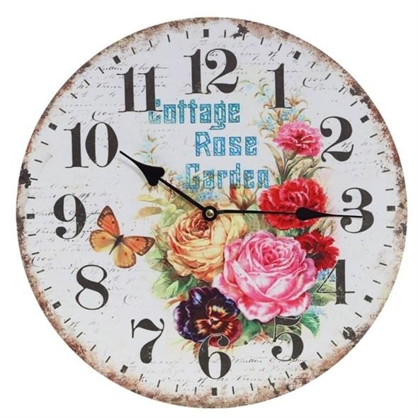 """Часы настенные """"Сад роз"""" - фото 12130"""