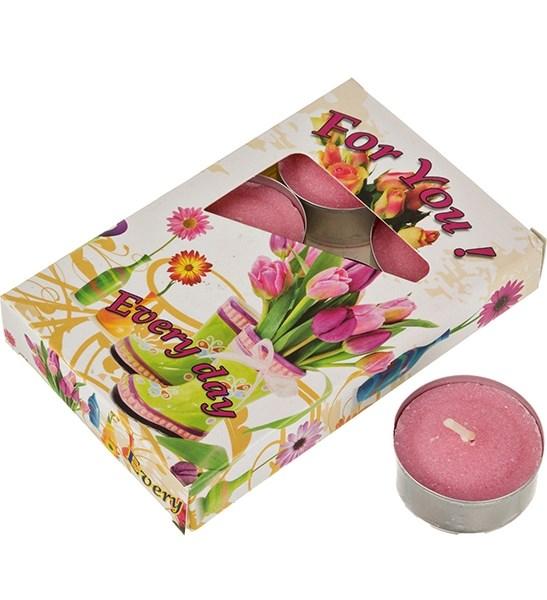 """Набор """"Орхидея"""" из шести ароматизированных свечей - фото 12216"""