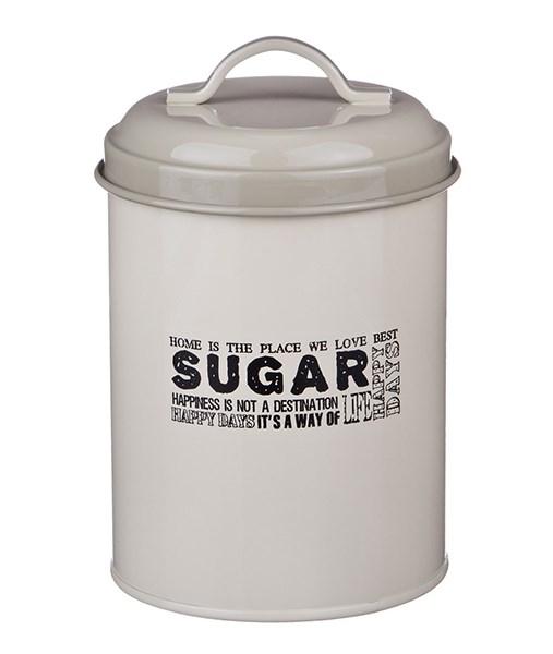"Банка ""Сахар"" металлическая для сыпучих и хранения - фото 12229"