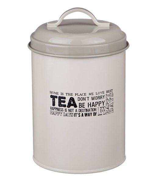 """Банка """"Чай"""" металлическая для сыпучих и хранения - фото 12231"""