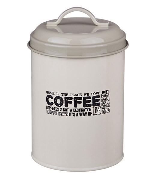 """Банка """"Кофе"""" металлическая для сыпучих и хранения - фото 12235"""