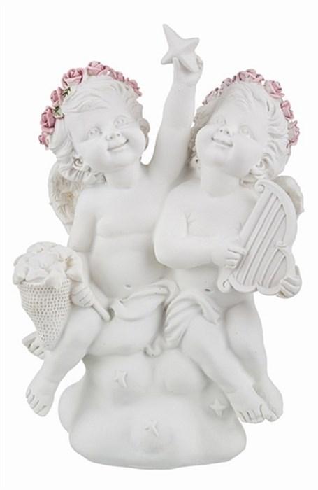 """Статуэтка """"Веселые ангелки"""" - фото 12800"""