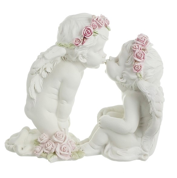 "Статуэтка ""Целующиеся ангелы"" - фото 12861"