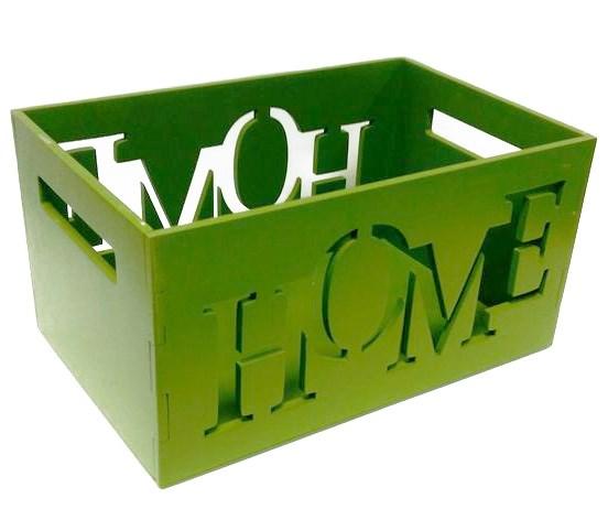 "Ящик для хранения ""Дом/Home"" - фото 12945"