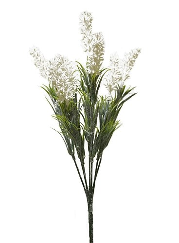 Цветы искусственные белые - фото 12971