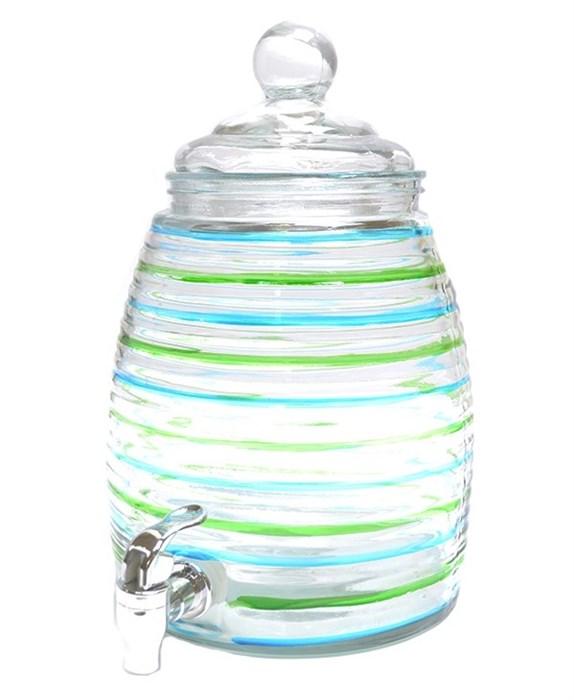 Емкость для напитков цветная 5 литров - фото 13028