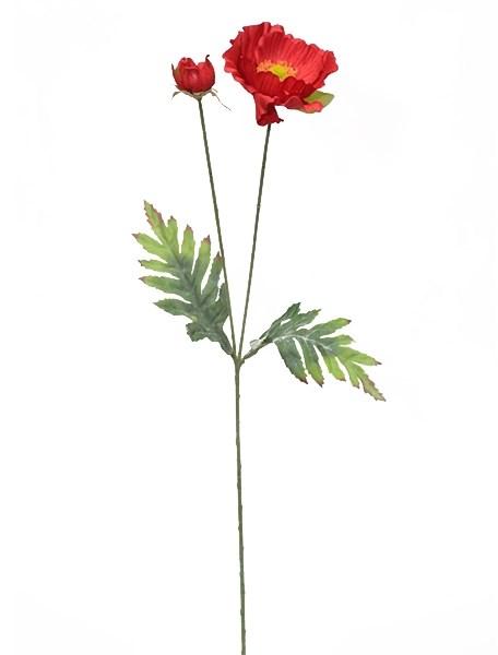 """Цветок искусственный """"Мак"""" - фото 13239"""