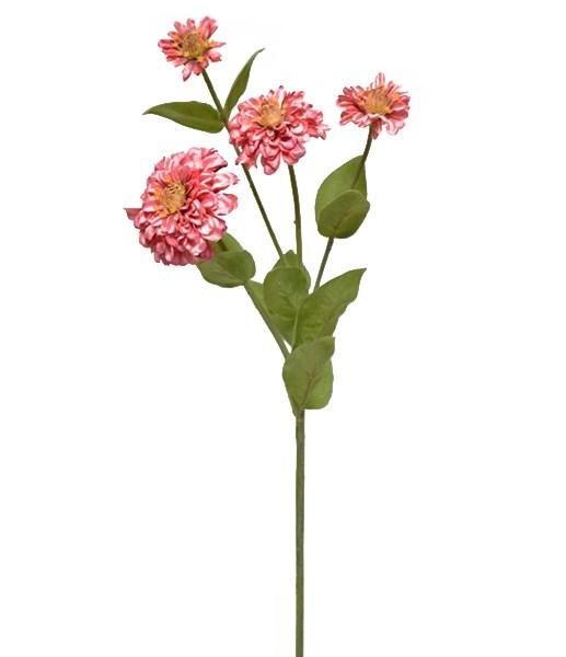 """Цветок искусственный """"Циния"""" - фото 13242"""