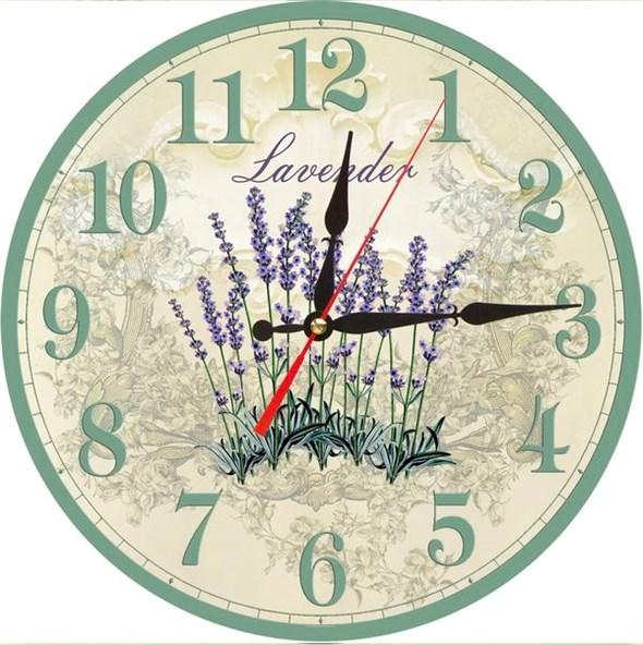 """Часы настенные """"Лаванда"""" - фото 13316"""