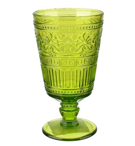 """Бокал """"Афина"""" зеленый 320 мл из цветного стекла - фото 13357"""