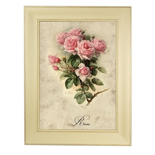 """Картина в раме  """"Букет роз"""" - фото 13439"""